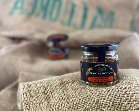 'Northern Delicious' : Northumbrian Smokehouse 'Oak Smoked Chilli Flakes'