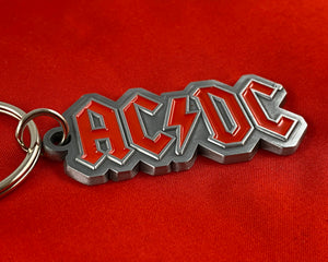 Let it Be - Music Merch: AC/DC Metal Logo Keyring