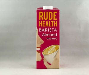 Nil Living - Barista Almond Milk | Organic from Rude Health 1ltr