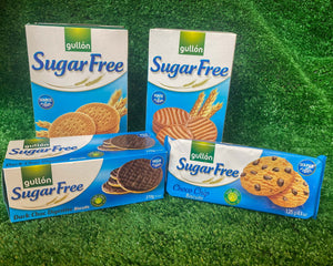 Gullón Sugar Free Biscuit selection from The Fruit & Nut Company