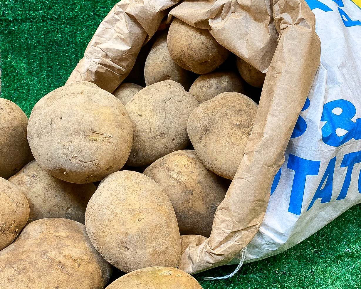 Hector Hall: Sack of  Potatoes (25Kg)