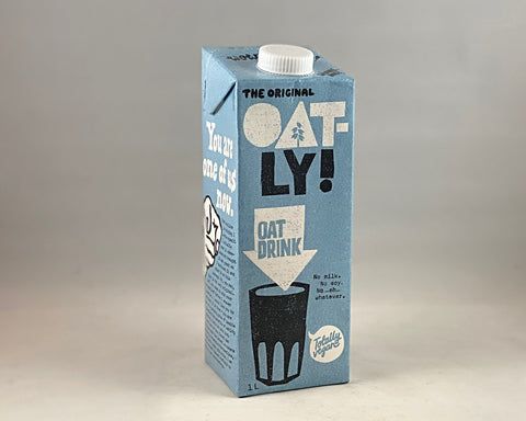 Nil Living -Oat Milk with added Calcium | Oatly 1ltr