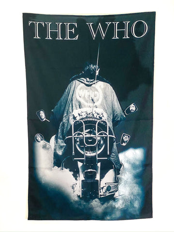 Let it be - Music Merch: Quadrophenia Textile Poster/Banner - THE WHO Official Merch
