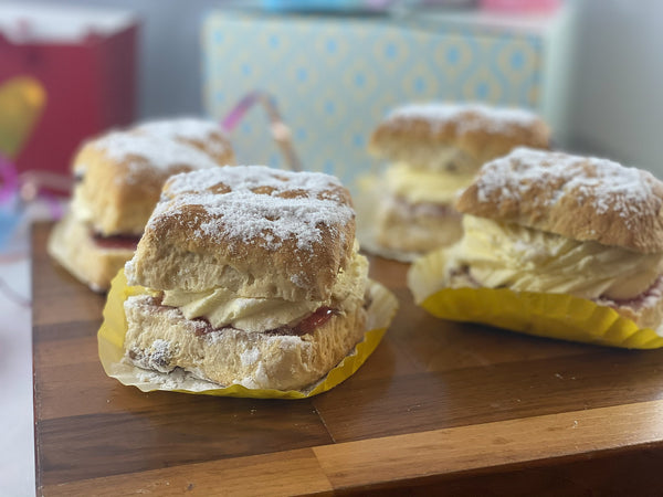 French Oven - Fresh Cream Fruit Scone