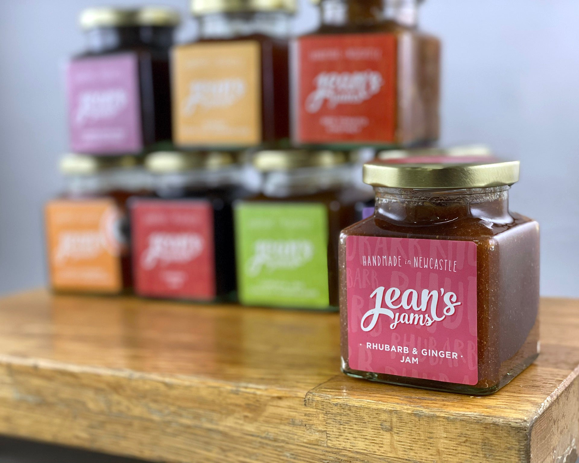 French Oven: Jean's Jams 'Rhubarb and Ginger Jam'