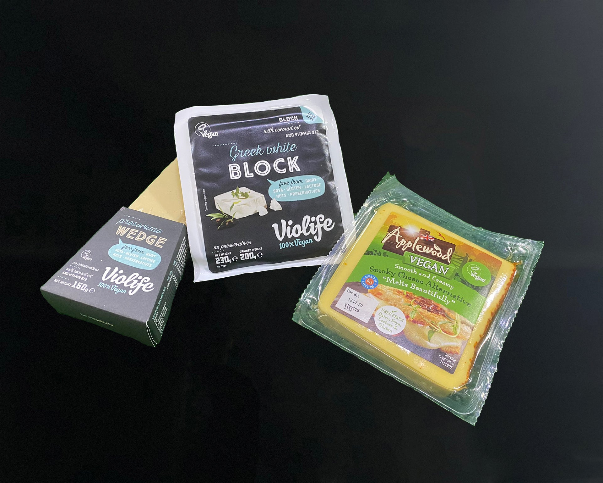 Matthews Cheese:  Vegan Cheese Trio