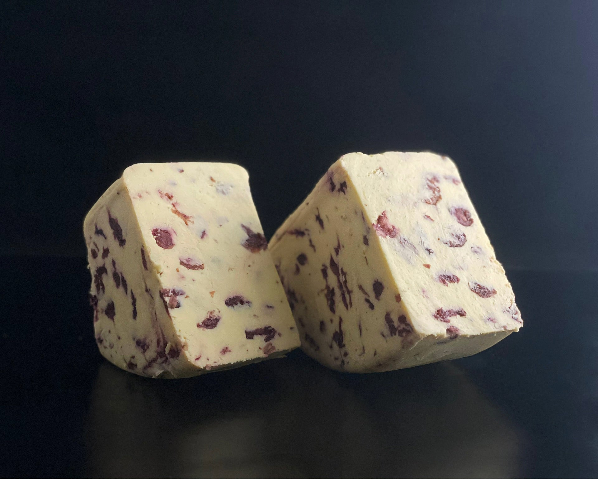 Matthew's Cheese: Hawes Wensleydale and cranberries 250g