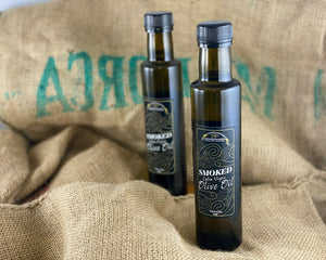 'Northern Delicious' : Northumbrian Smokehouse 'Smoked Extra Virgin Olive Oil'