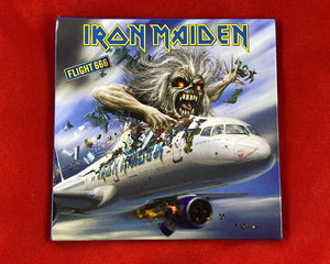 Let it Be - Music Merch: Iron Maiden Flight 666 Fridge Magnet
