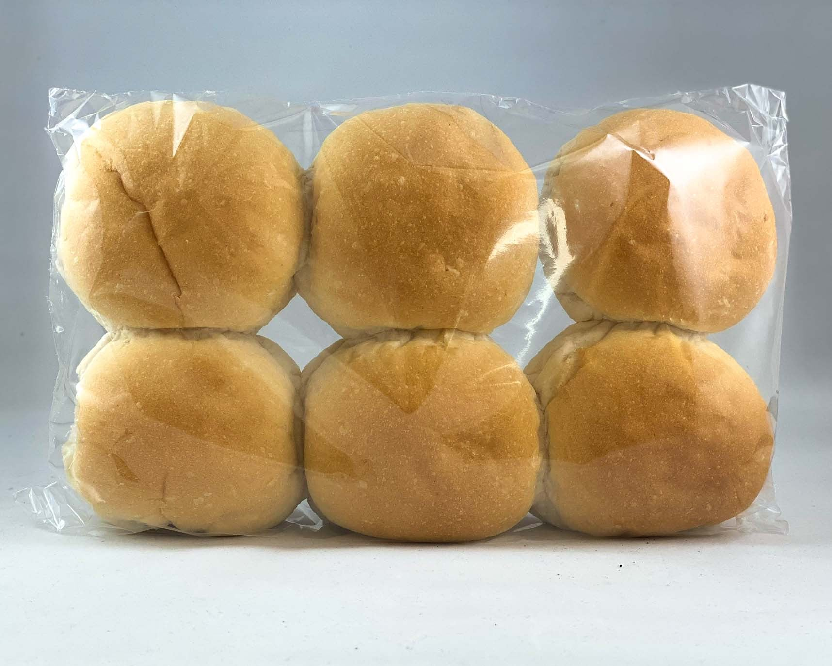 French Oven - 6 Soft White Bread Buns