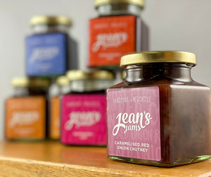 Northern Delicious: Jean's Jams ' Caramelised Red Onion Chutney'