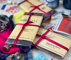 Northern Delicious: North's  Milk Chocolate Bar 'Raspberry Beret'