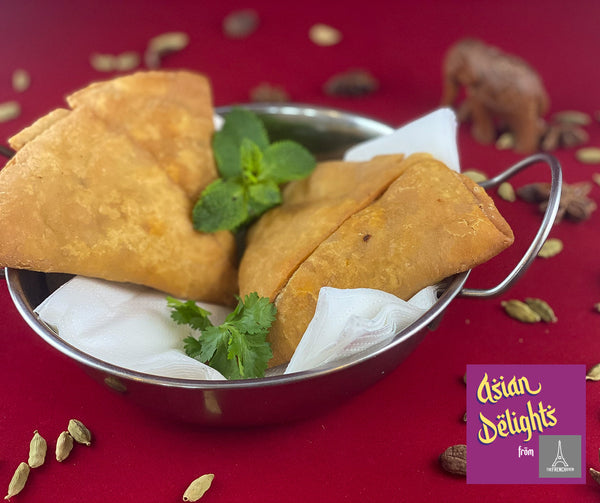 Asian Delights by The French Oven : Vegetable Samosas (Small)