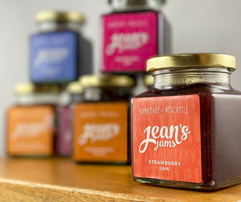 Northern Delicious: Jean's Jams 'Strawberry Jam'