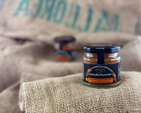 'Northern Delicious' : Northumbrian Smokehouse 'Oak Smoked Piri-Piri Seasoning & Rub'