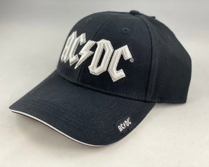 Let it Be - Music Merch: AC/DC White embossed Logo