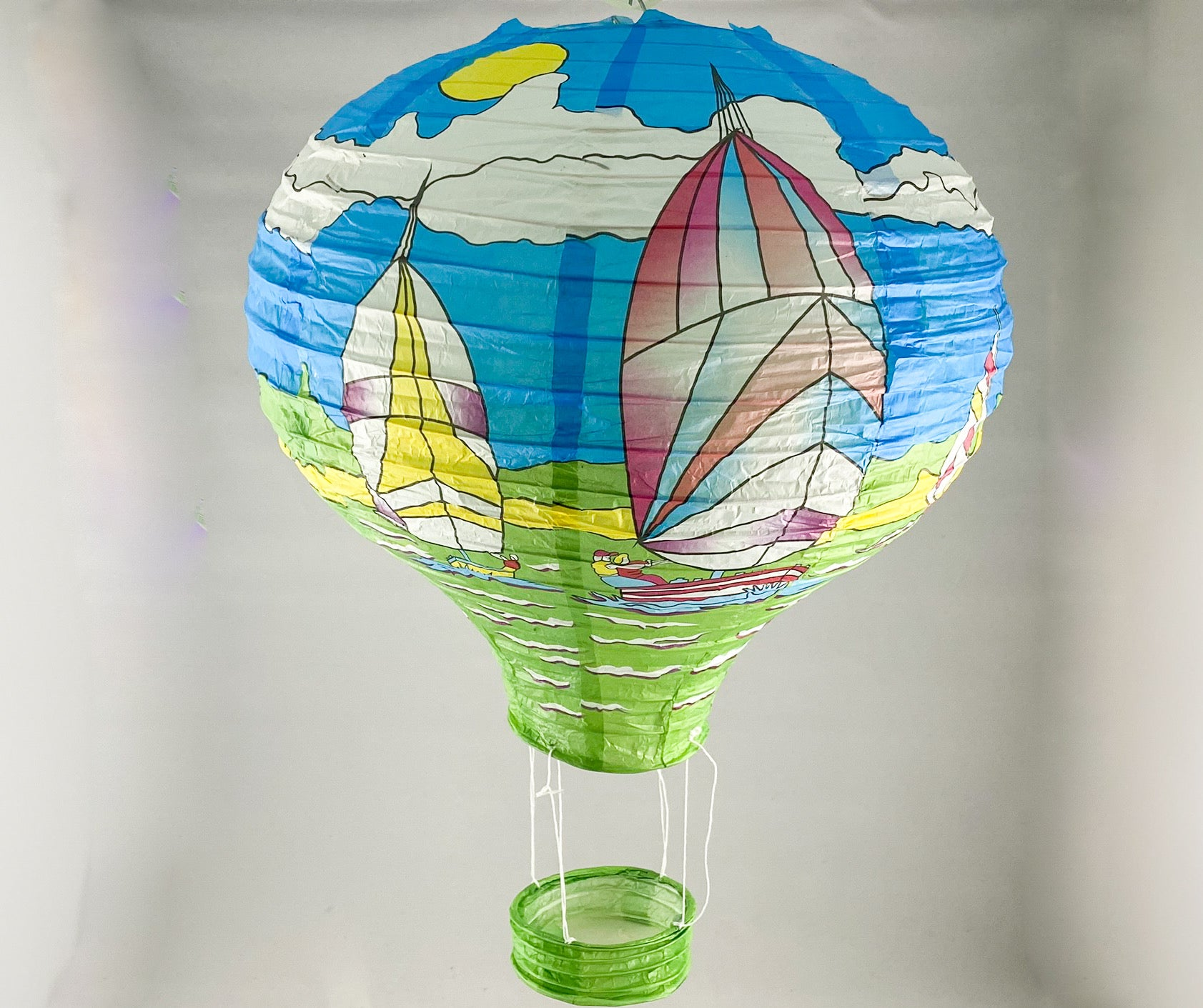 Tians' Gifts:  Paper Balloons - Sailing Boat
