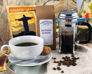Pumphreys :  Daterra Sunrise - Ground Coffee ( For Percolators & cafetière)