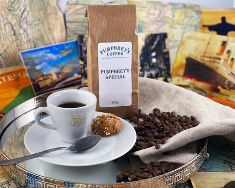 Pumphreys :  Special Blend -  Ground Coffee ( For Percolators & cafetière)