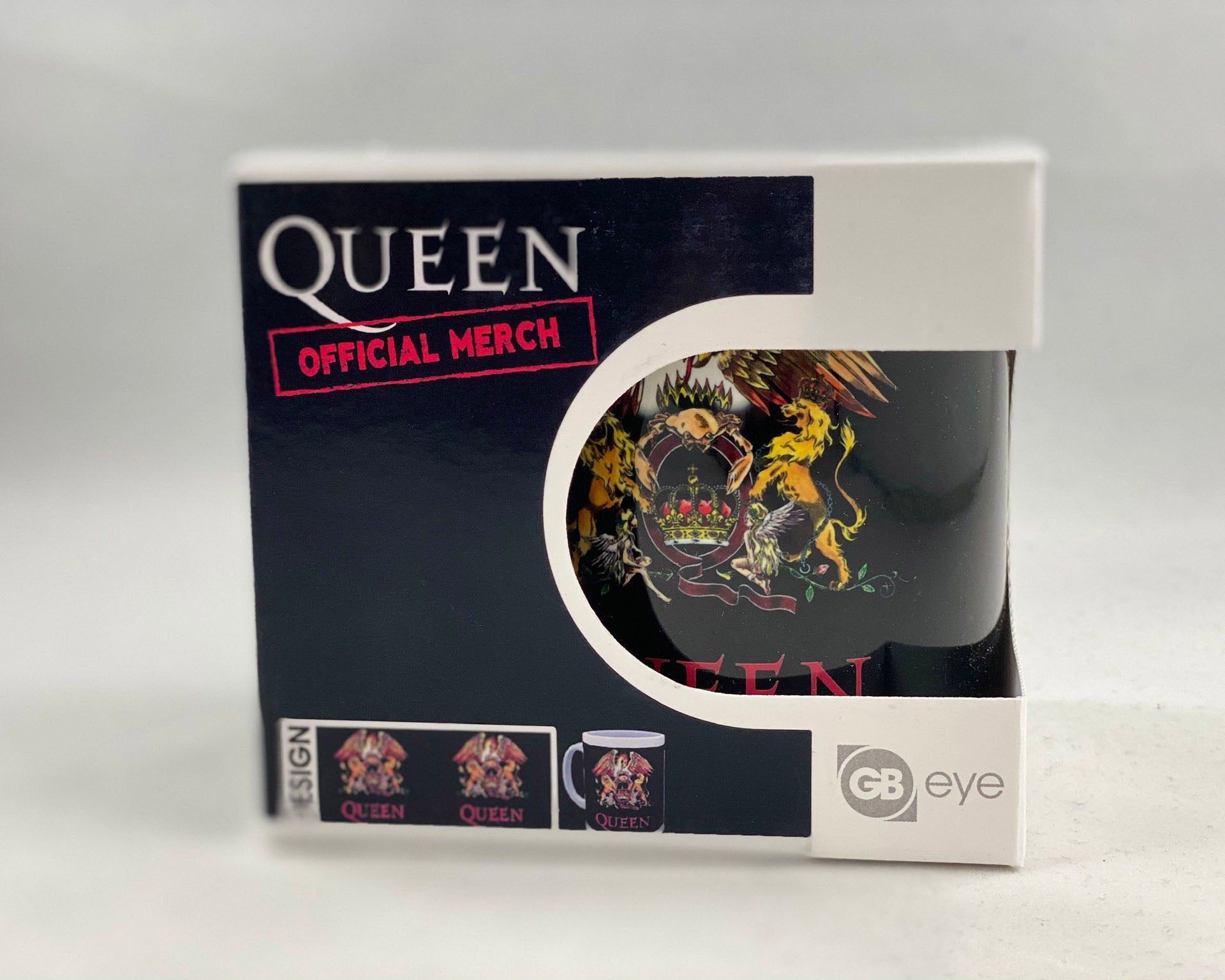 Let it Be - Music Merch: Queen Gold Crest boxed mug