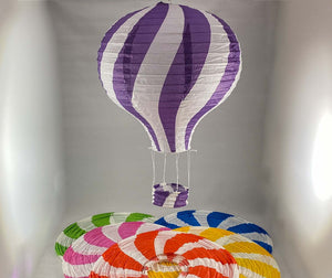 Tians' Gifts:  Paper Balloons - Striped