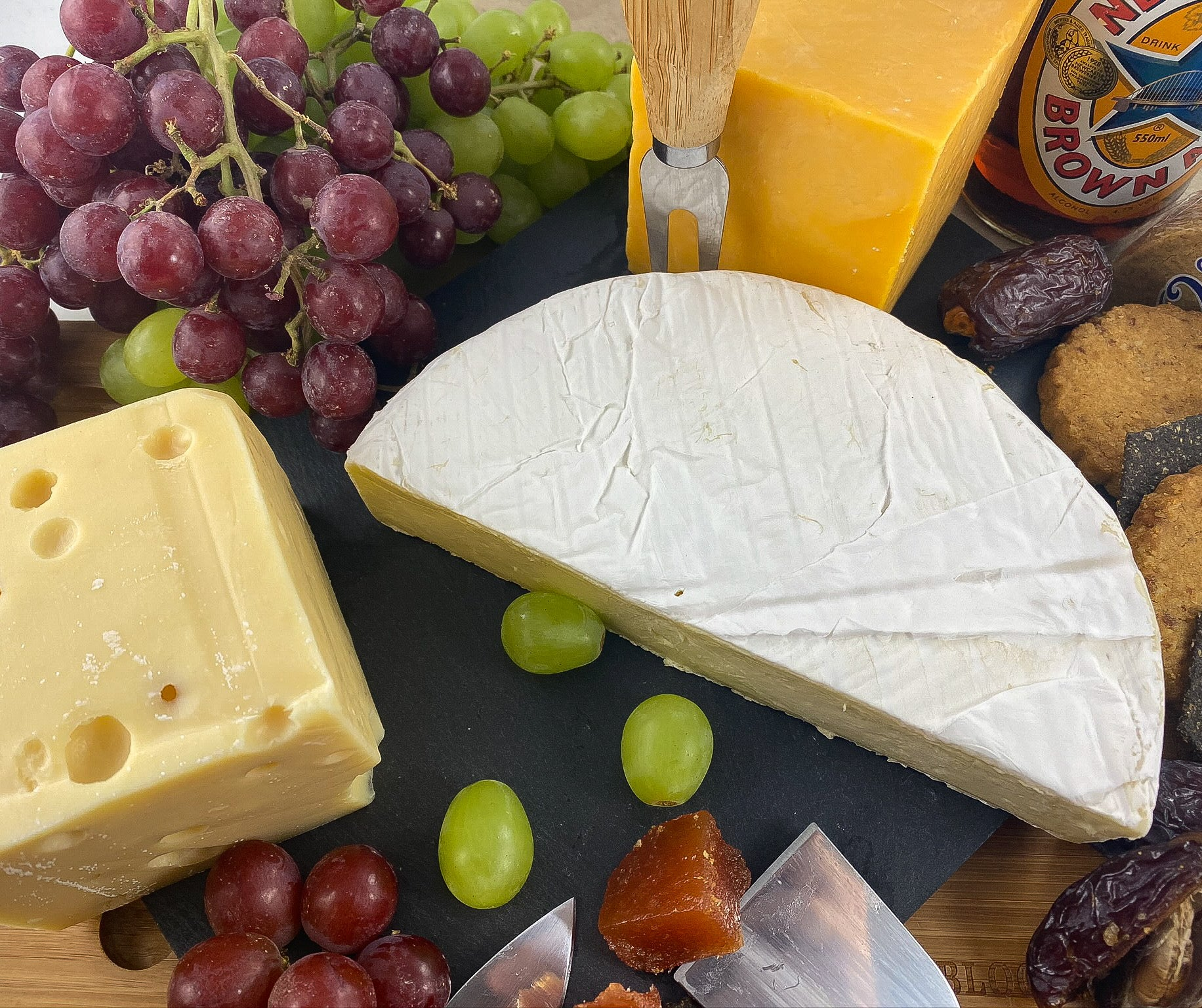 Matthews Cheese - Cheese essentials! Cheddar, Brie, Emmental or Mozzarella