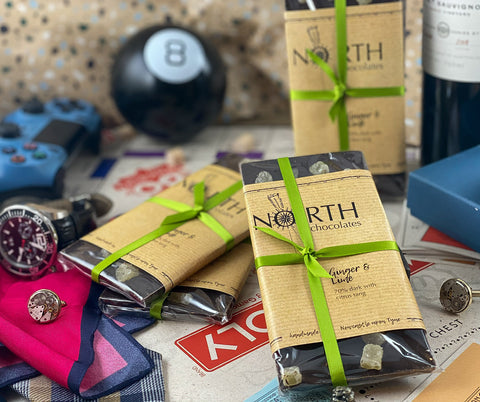 Northern Delicious: North's Dark Chocolate Bar 'Ginger & Lime'