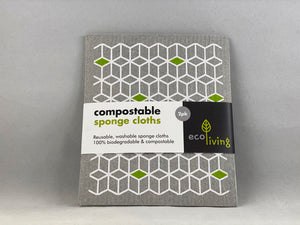 Nil Living - Compostable Sponge Cloths