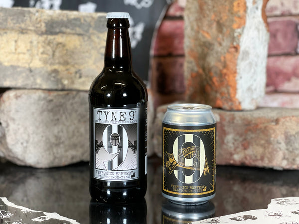 Firebrick Brewery: Tyne 9® ( 500ml 3.9% ABV)