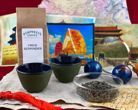 Pumphreys :  China Gunpowder  - Tea