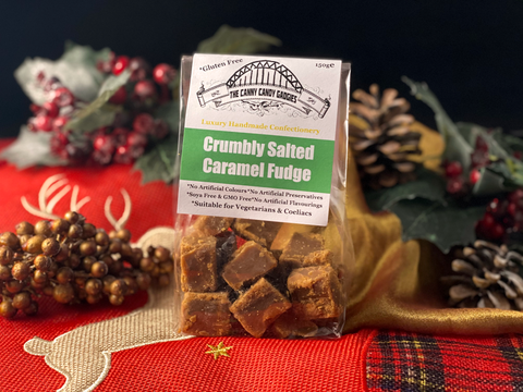 Northern Delicious : The Canny Candy Gadgies Crumbly Salted Caramel Fudge