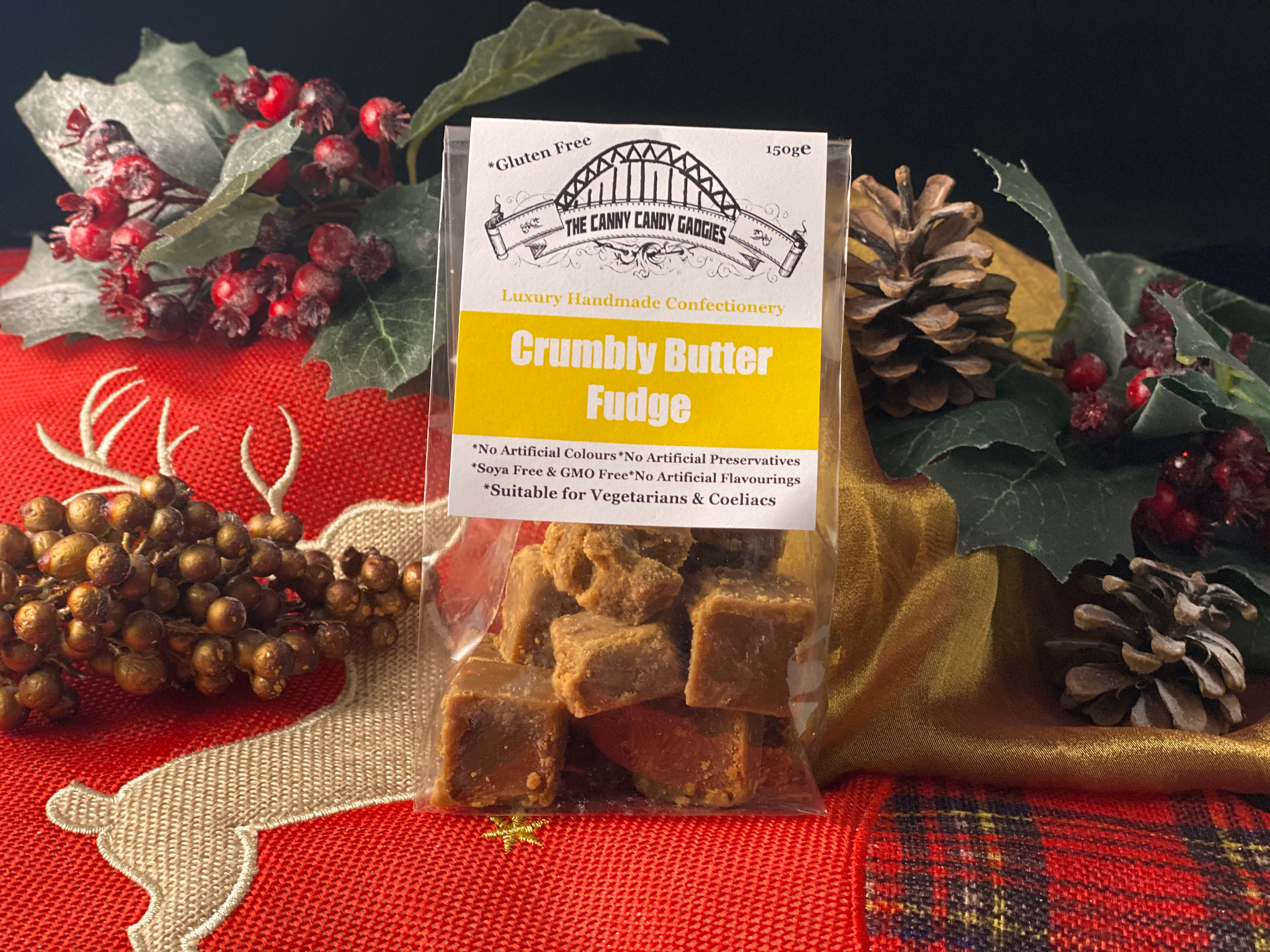 Northern Delicious : The Canny Candy Gadgies Crumbly Butter Fudge,