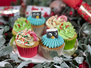French Oven : Christmas Cupcakes