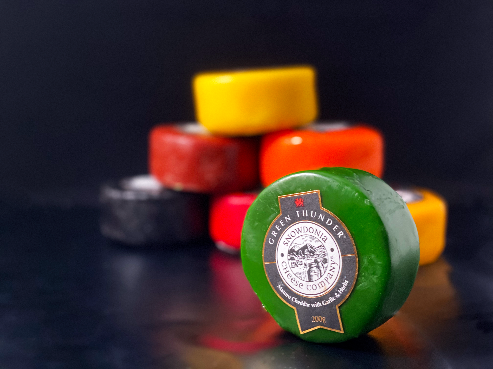 Matthews Cheese: Green Thunder - Snowdonia Truckles