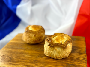 French Oven: Two Pork Pies