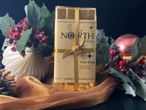 Northern Delicious: North's Dark Chocolate Bar 'Three Kings'