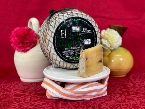 La Casa - Manchego Cheese Cured With Black Truffle 150Gr