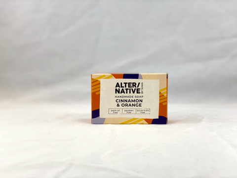 Nil Living: Cinnamon & Orange Soap | Alter/native