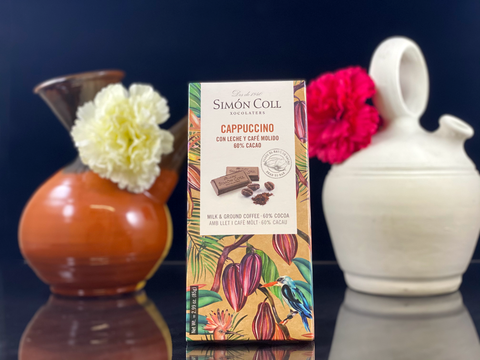 La Casa - Nish Gourmet Chocolate  53. Milk & Ground Coffee Chocolate 60% Cacao 85 Gr– Simon Coll