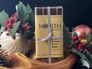 Northern Delicious: North's Chocolate Bar 'Caramel Rum & Raisin'