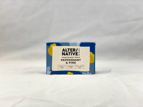 Nil Living: Peppermint & Pine Oil Soap | Alter/native
