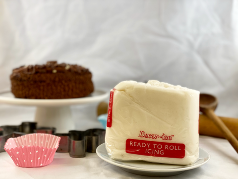 The Fruit & Nut Company: White Ready to Roll Icing