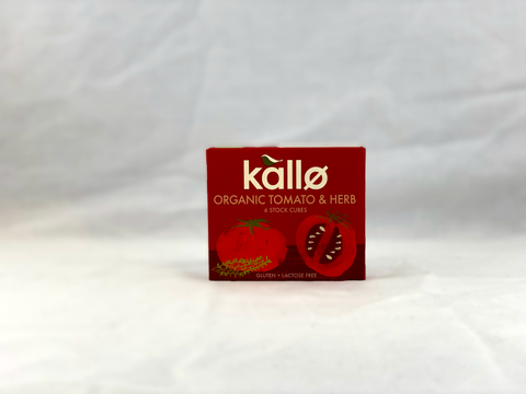 Nil Living: GF Tomato & Herb Stock Cubes | Organic & Vegan from Kallo