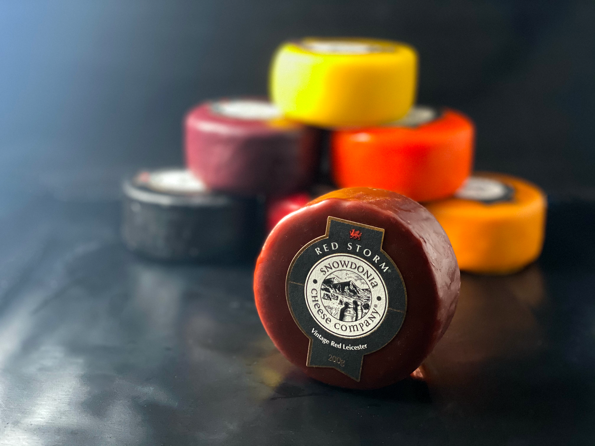 Matthews Cheese: Red Storm - Snowdonia Truckles