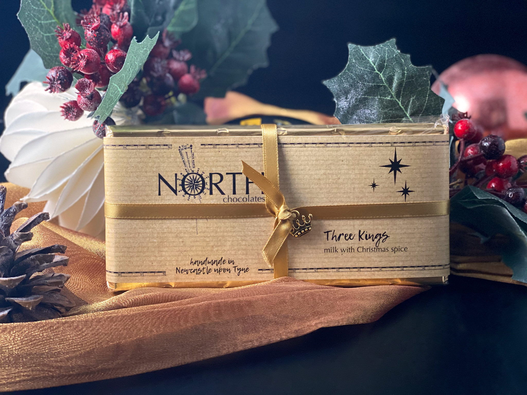 French Oven - North's Milk Chocolate Bar 'Three Kings'