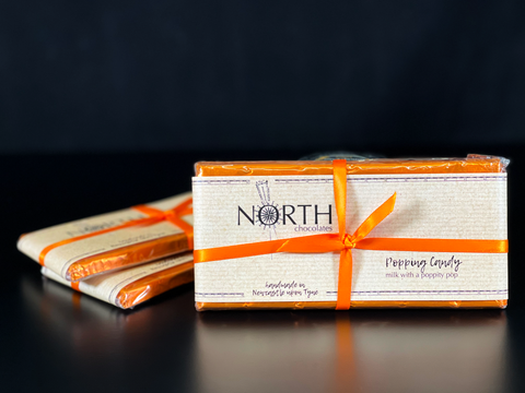 Northern Delicious: North's  Milk Chocolate with Popping Candy