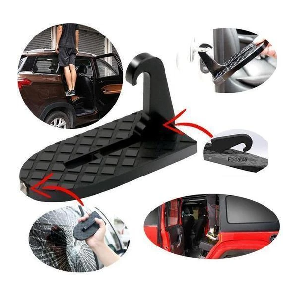 MULTI-FUNCTIONAL FOLDABLE CAR ROOF RACK STEP (400 POUNDS/180 KG)