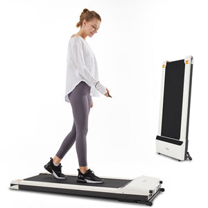 UMAY® foldable electric treadmill + SPAX professional fitness course