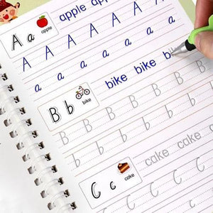 Magic calligraphy that can be REUSED
