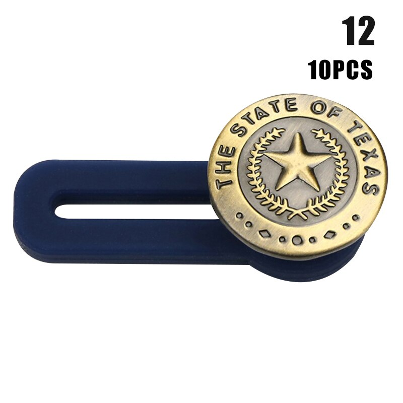 Jeans Retractable Button10Pcs